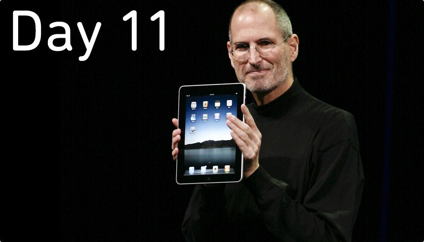 Day 11 - October 5 - Steve Jobs Passes Away