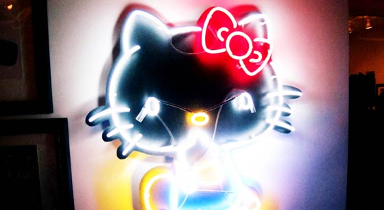 "hello kitty art basel. Hello Kitty Invades Miami at SANRIO&squot;s ""Small Gift Miami"" Exhibit"