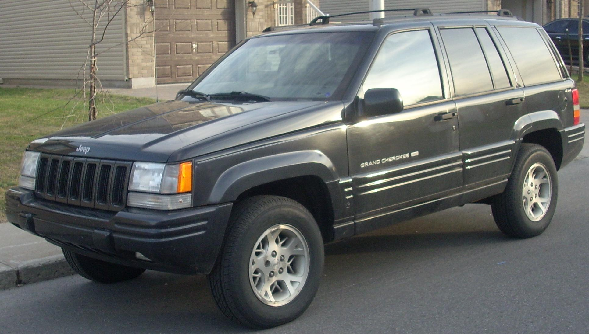 photo of a 1996 jeep grand cherokee limited v8 the jeep. Cars Review. Best American Auto & Cars Review