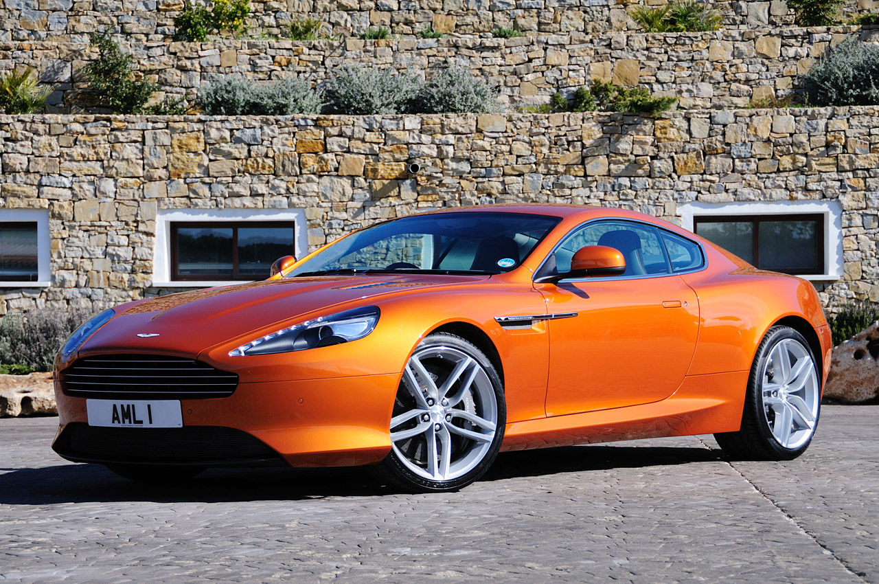 2012 Aston Martin Virage: