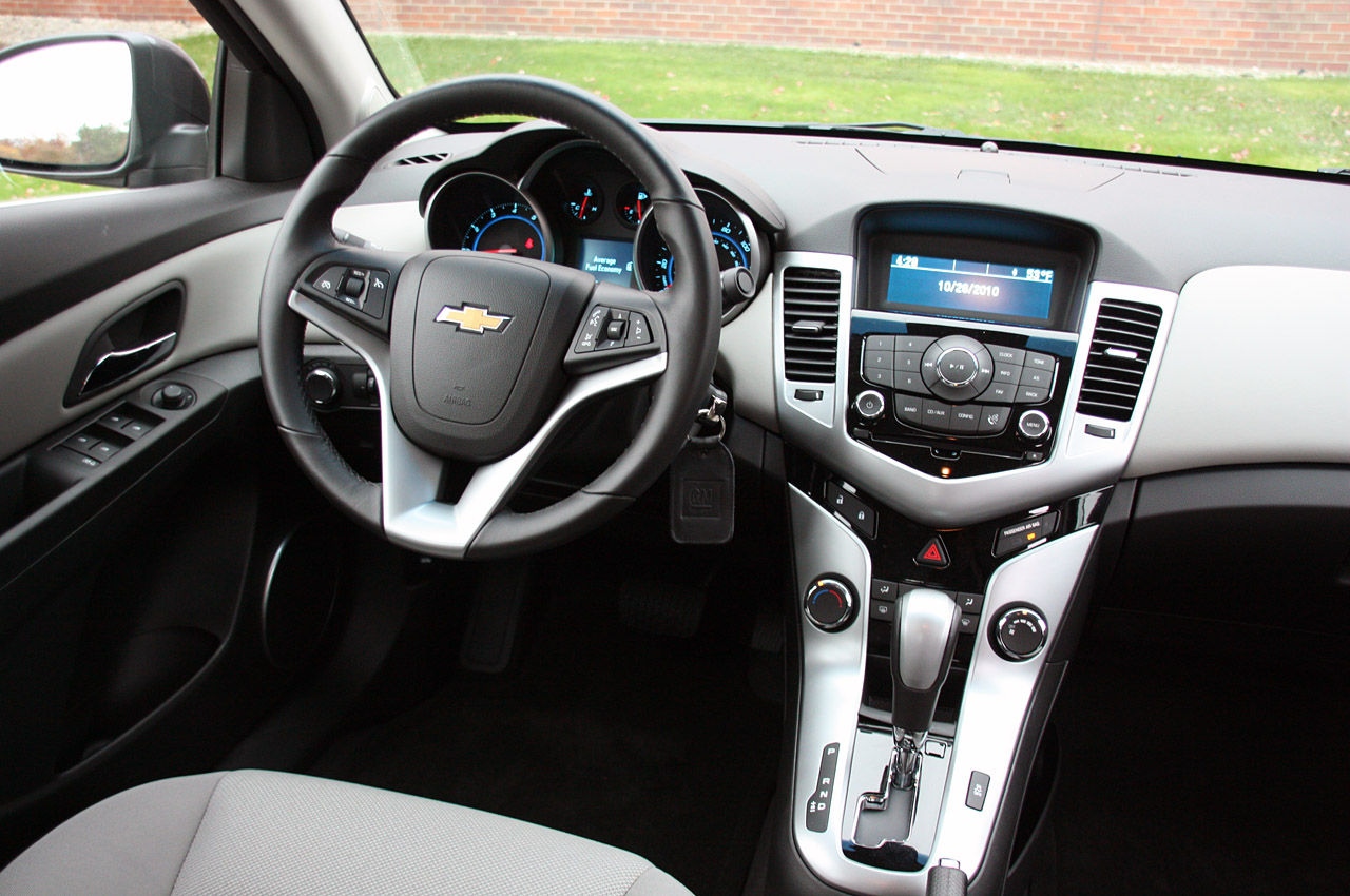 2011 Chevy Cruze Interior