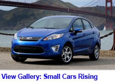 the principal small fuel thrifty cars among the japanese automakers are the toyota prius and yaris honda fit crz and civic hybrid and the nissan versa