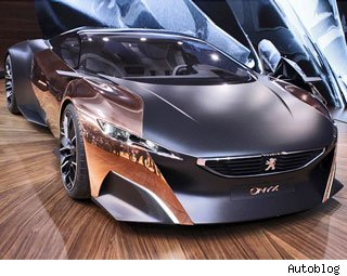 2012 Peugeot Onyx Concept Car