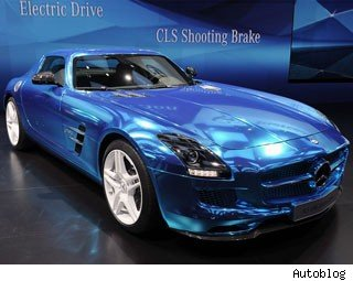 Mercedes SLS AMG Electric Car