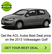 2013 Volkswagen Golf Best Deal