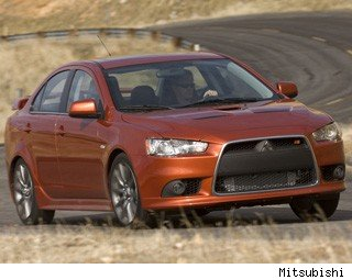 2013 Mitsubishi Lancer Ralliart