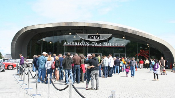 An Unusual Place For Americas Biggest Car Museum  Autoblog