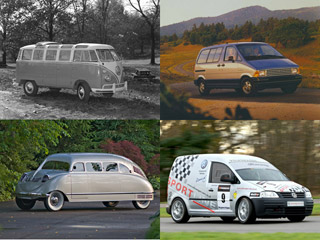 The Weirdest, Wildest and Worst Minivans