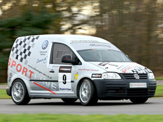 2008 Volkswagen Caddy (racing van)