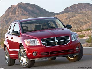 Dodge Caliber for winter driving