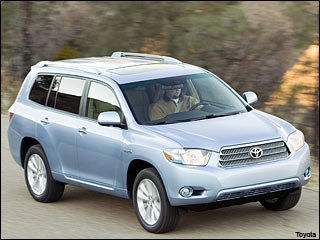 09 Toyota Highlander Hybrid