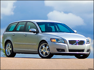 2008 Volvo V50 station wagon