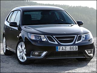 2008 Saab 9-3 luxury wagon