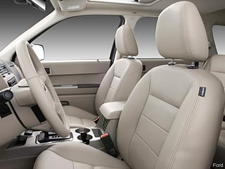 Ford Escape Hybrid SUV interior