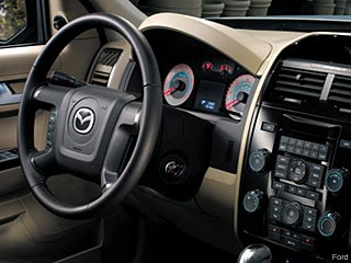 Mazda Tribute Hybrid interior