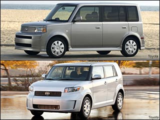 Scion xB vehicles