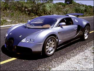 Buggatti Veyron sports car picture