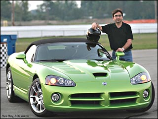 rex roy with sports car