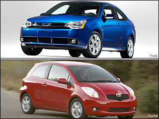 Ford & Toyota Fuel efficient cars