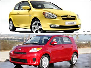 Fuel Efficient Hyundai & Scion Cars