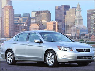 silver 08 Honda Accord EX L