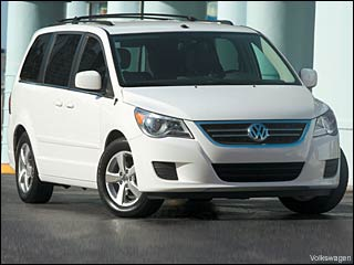 2009 vw routan minivan