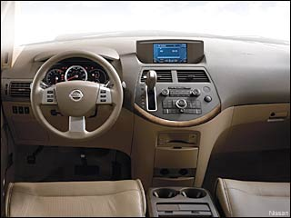 2009 nissan quest interior