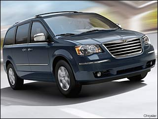 2009 town and country minivan