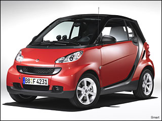 08 smart fortwo Fuel Efficient Car