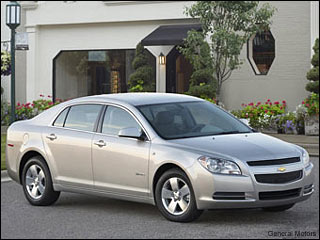09 Chevy Malibu Hybrid Fuel Efficient Car
