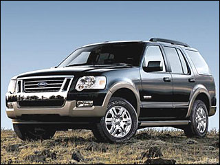 Ford Explorer for winter driving