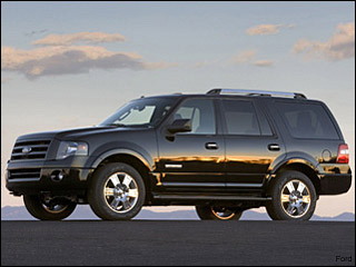 Ford Expedition winter driving