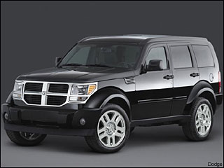 Dodge Nitro winter driving