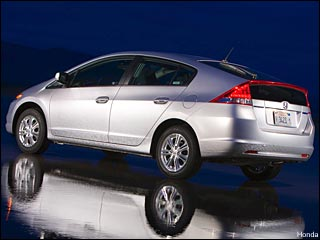 New 2010 Honda Insight hybrid