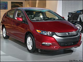 red 2010 Honda Insight