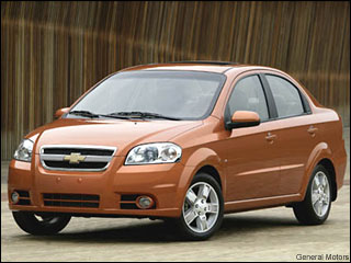 cheap chevy aveo