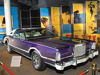 Elvis Presley's 1975 Lincoln Continental Mark IV