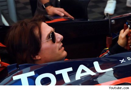 tom cruise F1 Red Bull