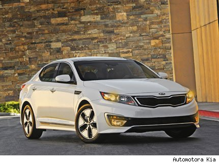 kia optima hibrido premio