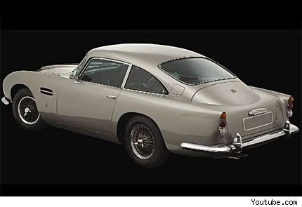 george harrison aston martin db5