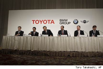 BMW Group y Toyota acuerdo ecologia