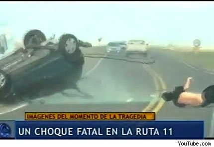 fatal accidente en Argentina enero 2012