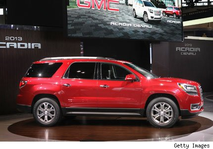When Do The 2014 Gmc Acadias Come Out | Autos Weblog