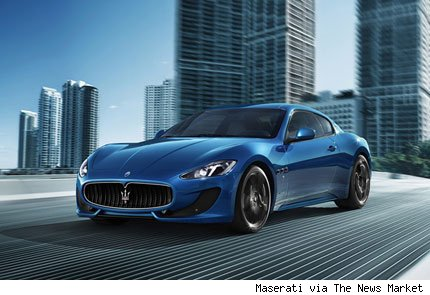 maserati auto show de ginebra 2012