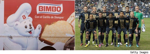 "cakes and cookies,"" struck a deal with the MLS' Philadelphia Union that"