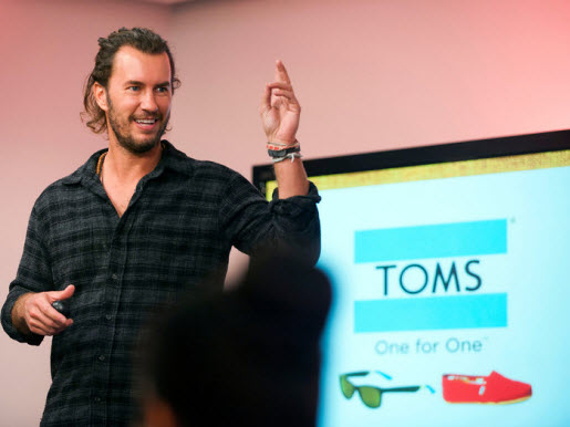 toms shoes information