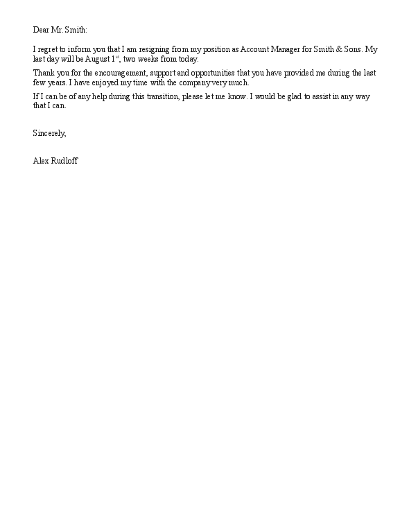 resignation letter with regret thelongwayupinfo – Letter of Resignation with Regret