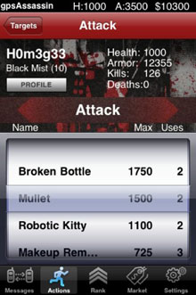 GPS Assassins for iPhone