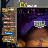 Halloween Cat Bowling Coughs Up Mental Candy