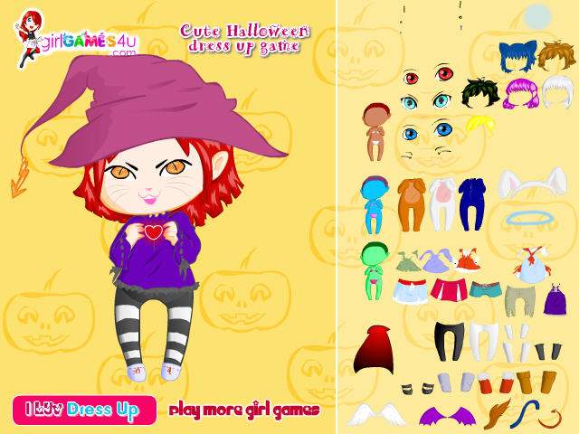 Young Party Wear Dress Up Game 74